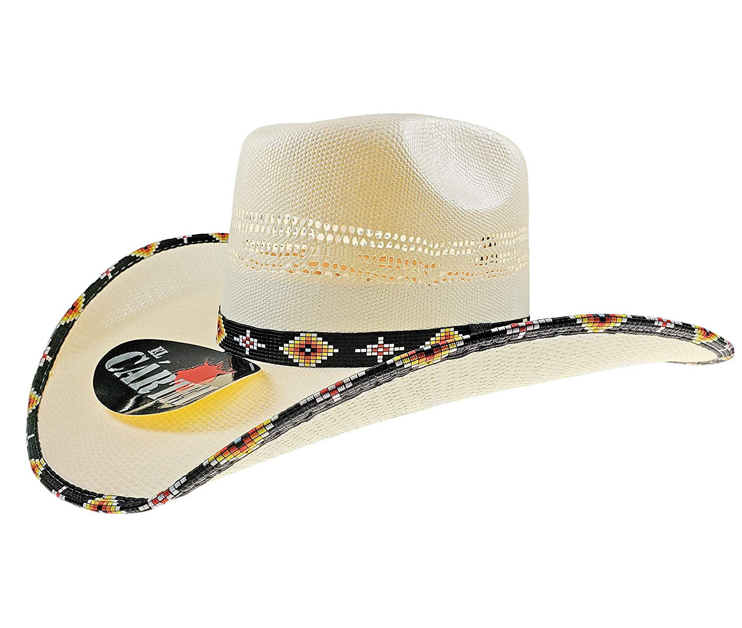 0100461c41167 Amazon.com  El General Boy s Western Hat Sombrero 100X Horma Conejo El  Cartel Bangora Ivory  Clothing