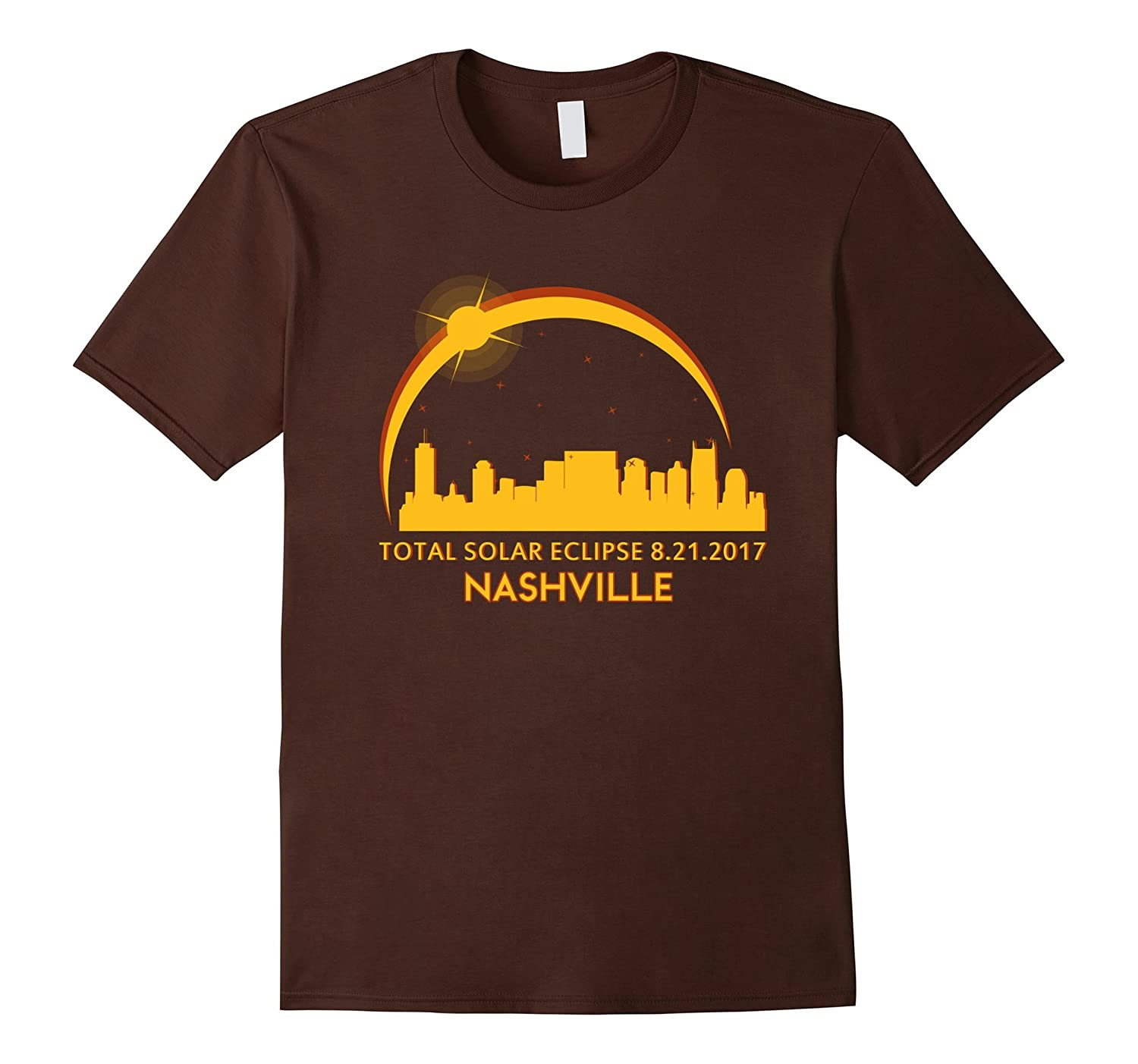 Nashville Tennessee Total Solar Eclipse 8/21/2017 T-shirt-BN