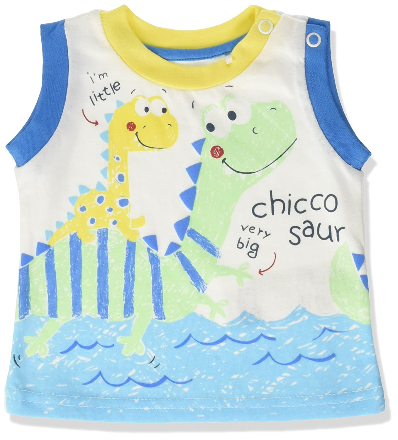 Chicco Baby Boys' Vest Top White (Bianco 033) 62 cm 09006207000000