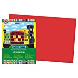 Amazon Price History for:Pacon Riverside Construction Paper, 12-Inches by 18-Inches, 50-Count, Holiday Red (103443)