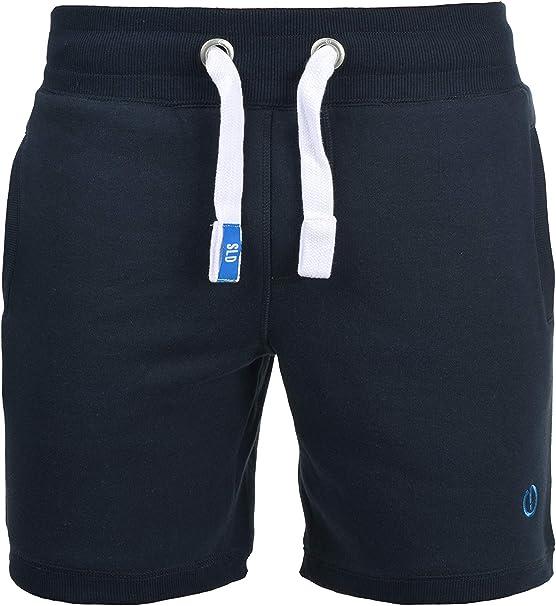 !Solid BennShorts Pantal/ón Corto Ch/ándal Sweat Bermudas Para Hombre Con Forro Polar Suave Al Tacto