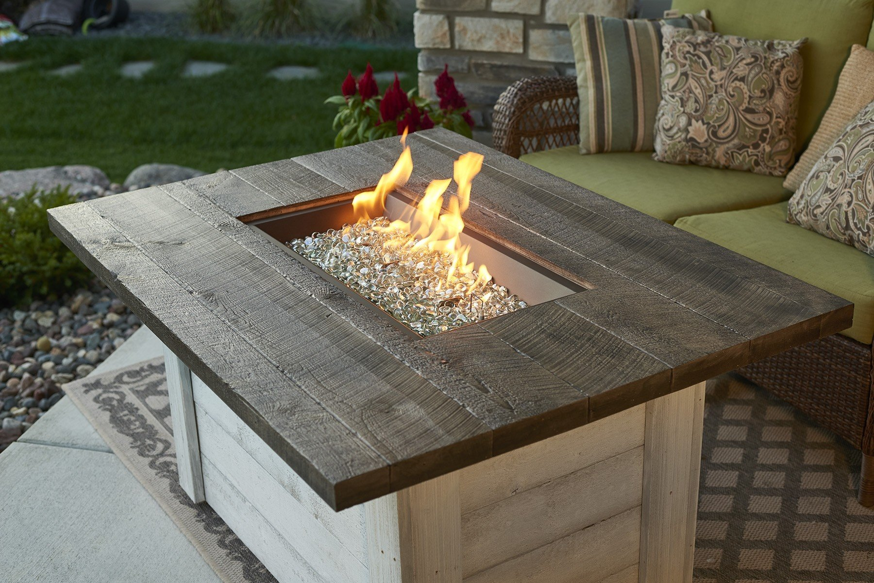 Outdoor Greatroom Alcott Fire Table by The Outdoor GreatRoom Company