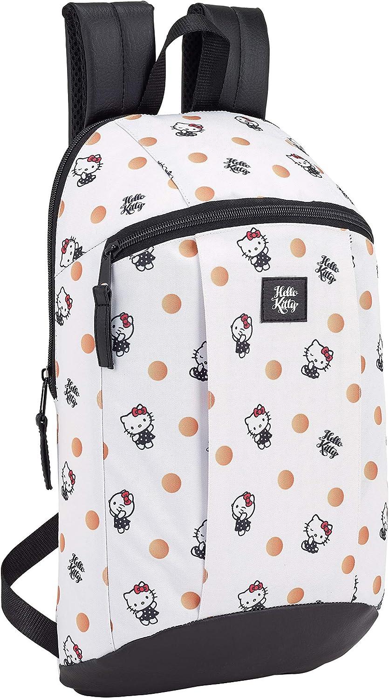 Hello Kitty 2018 Mochila Tipo Casual 8.5 litros Blanco 39 cm