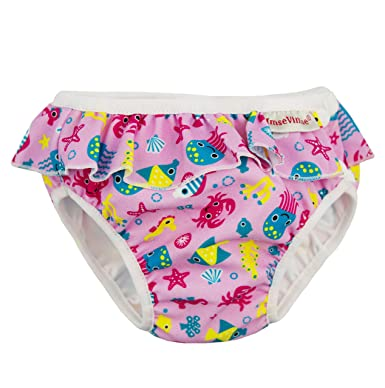 Double-layer Leakproof Baby Swim Diapers For Infant Toddler Swimming Pool Waterproof Adjustable Waist Swimwear Pants Cloth Nappy Goods Of Every Description Are Available Baby Care Baby Nappies