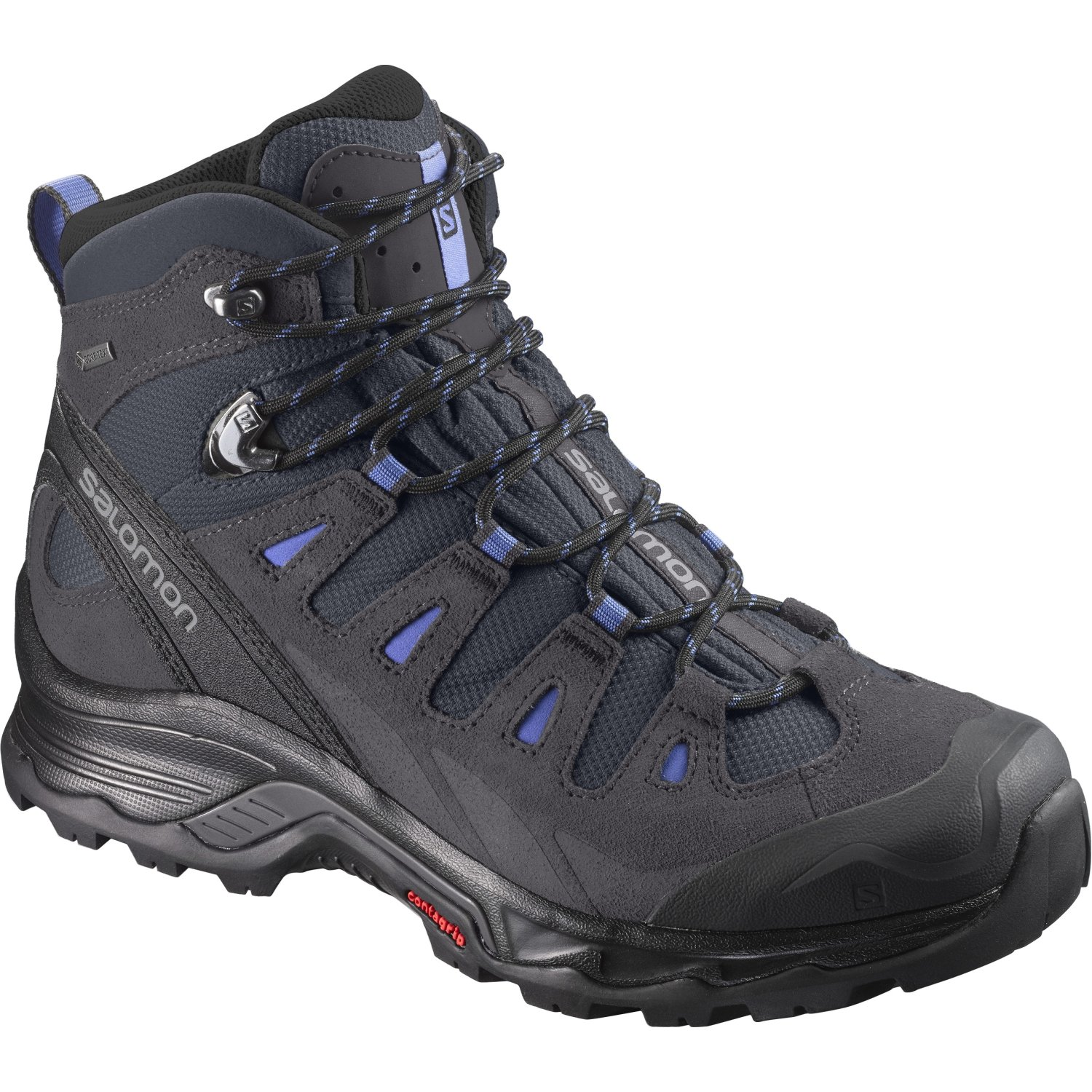 Salomon Women's Quest Prime GTX W Backpacking Boot B01NA9VEZD 5.5 M US|India Ink/Phantom/Amparo Blue