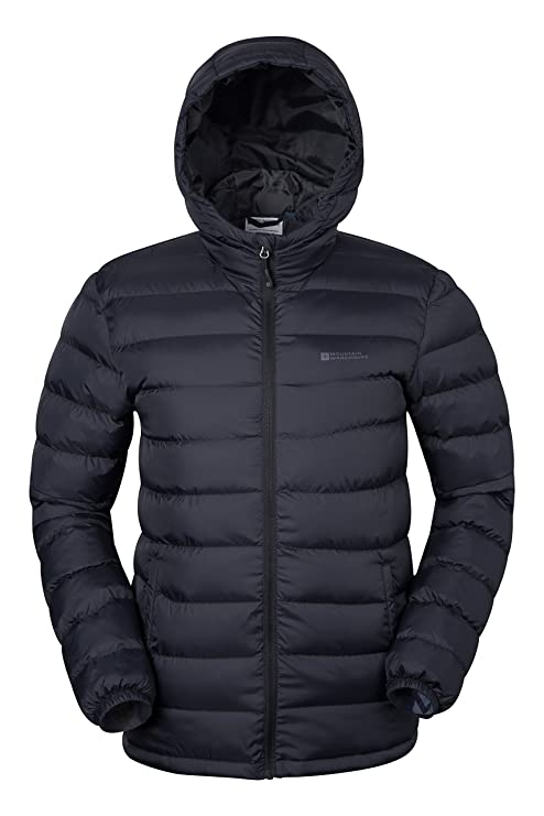 798f3463871e7 Mountain Warehouse Season Mens Padded Jacket - Water Resistant Jacket