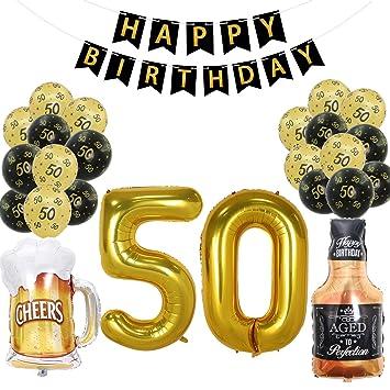 Amazon.com: Joymee - 50 globos de látex para decoración de ...