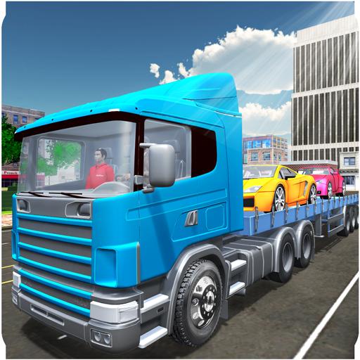 Car Transporter Truck USA - Transporter Trailer