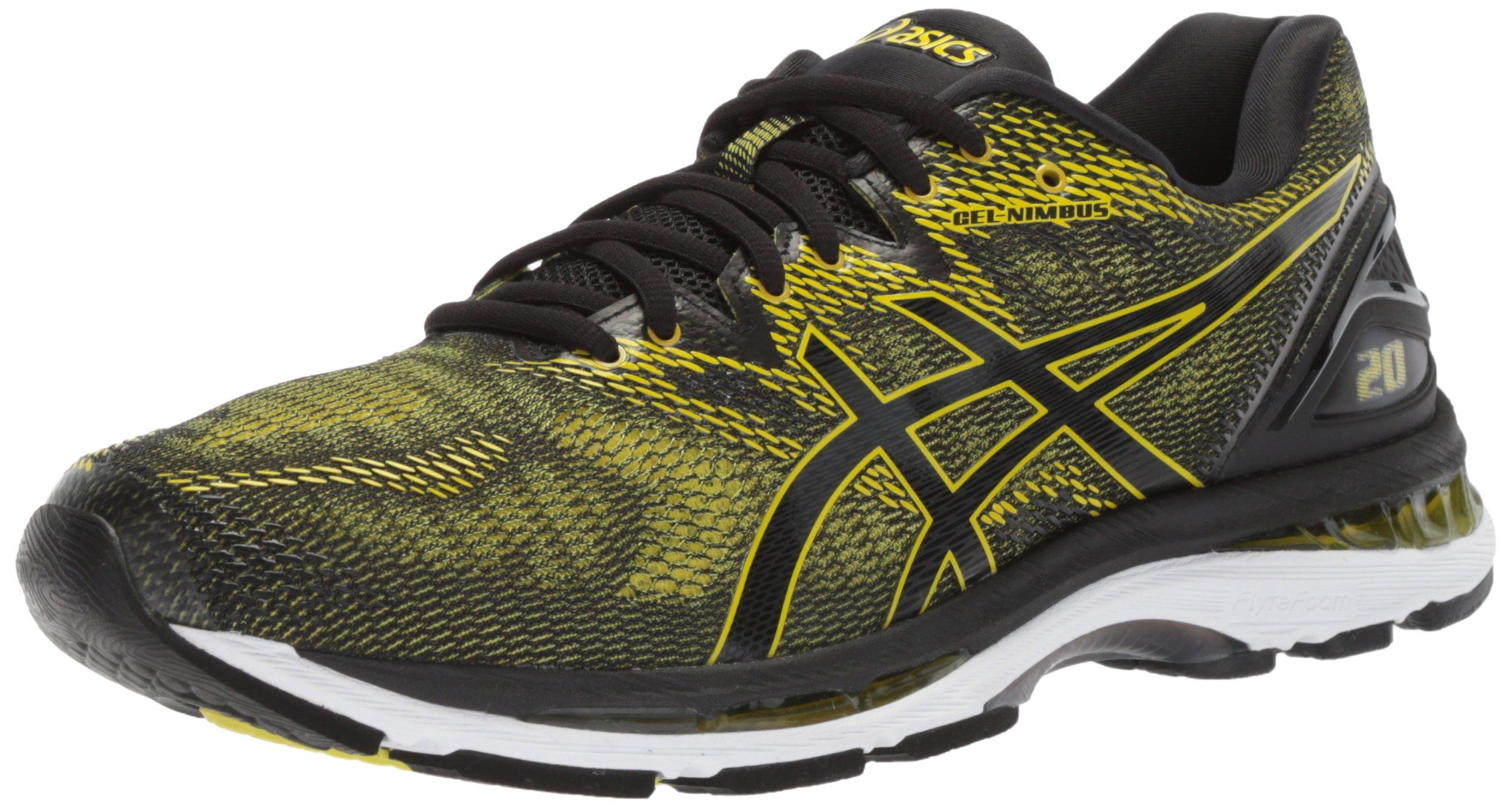ASICS Men's Gel-Nimbus 20 Running Shoe, Sulphur