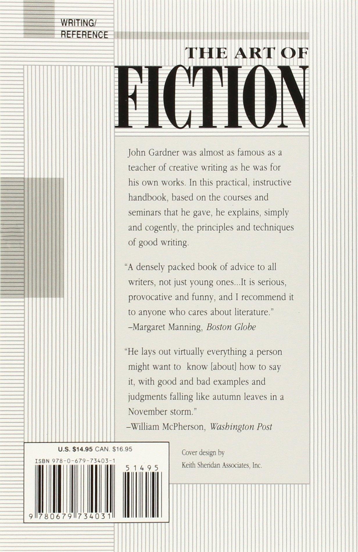 the art of fiction john gardner summary