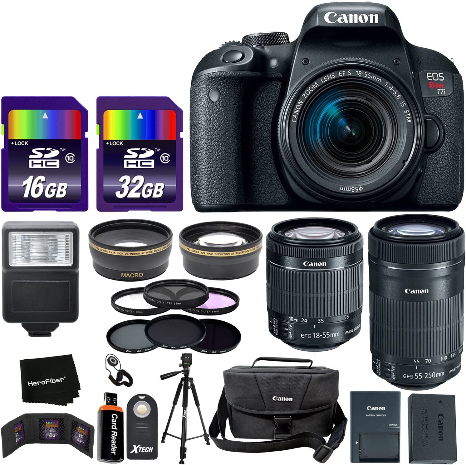 Amazon.com: Canon EOS Rebel T7i - Cámara réflex digital ...