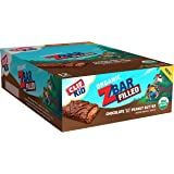 CLIF KID ZBAR Filled - Organic Energy Bar - Chocolate Peanut Butter - (1.06 Ounce Snack Bar, 12 Count)