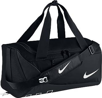 3fedca7d2f Nike BA5257-010 Sac de Sport Mixte Enfant, Noir/Blanc, 51 x 28 x 25 ...