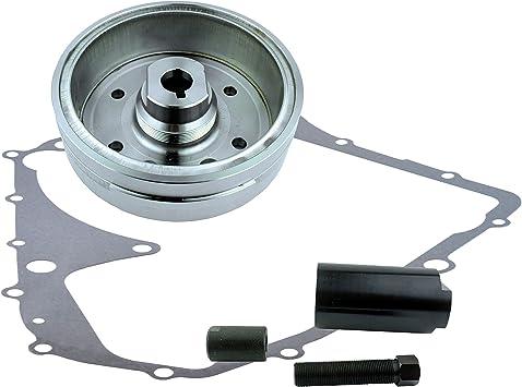 Crankcase Cover Gasket For Suzuki LTA 400 Eiger Auto Arctic Cat 400 Auto 2002-2008 OEM Repl.# 32101-38F00 Kit Stator