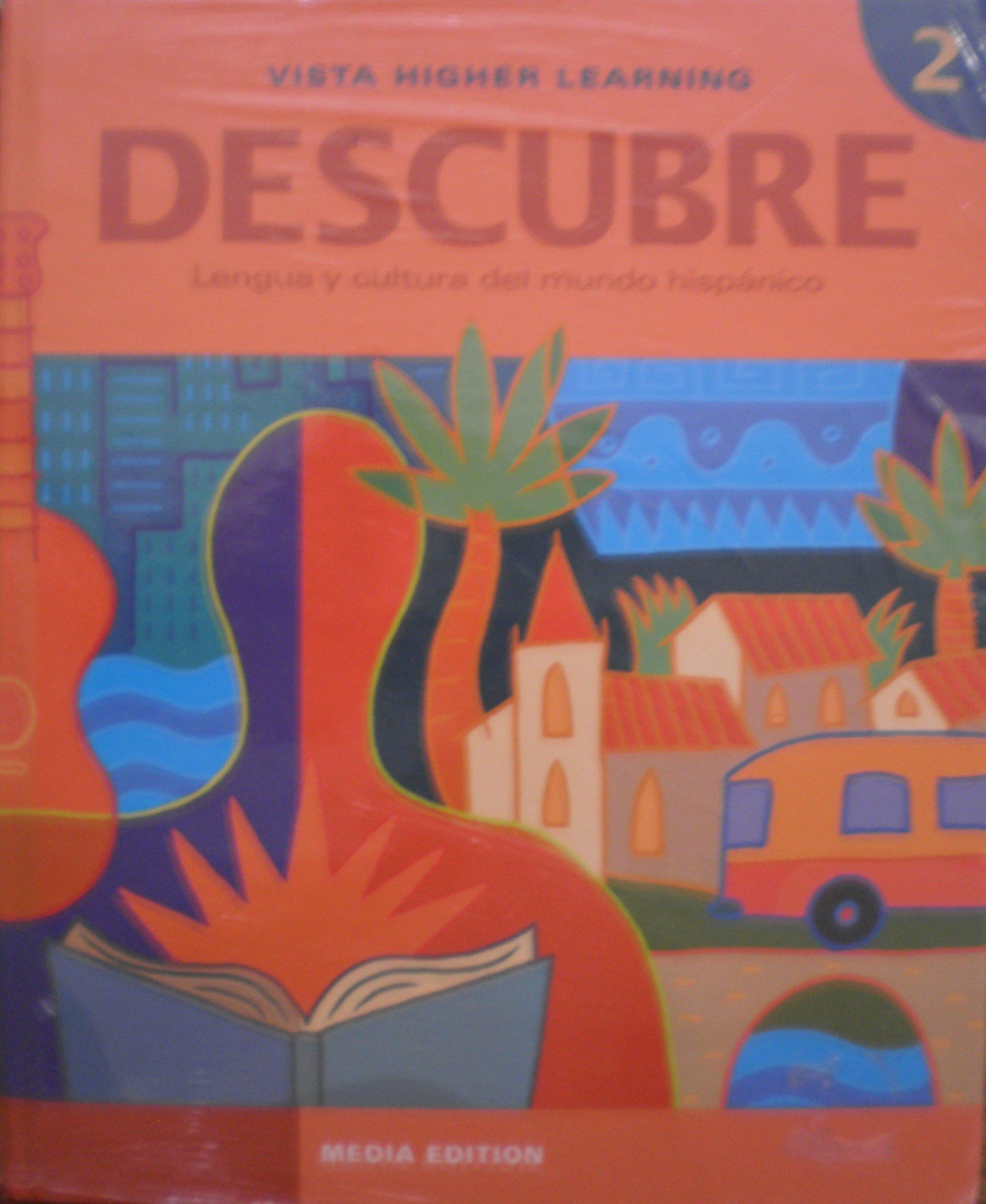 Descubre 2 Media Edition - Student Edition, Supersite Code, Cuaderno de  Practica and Cuaderno de Actividades: Amazon.es: Desconocido: Libros