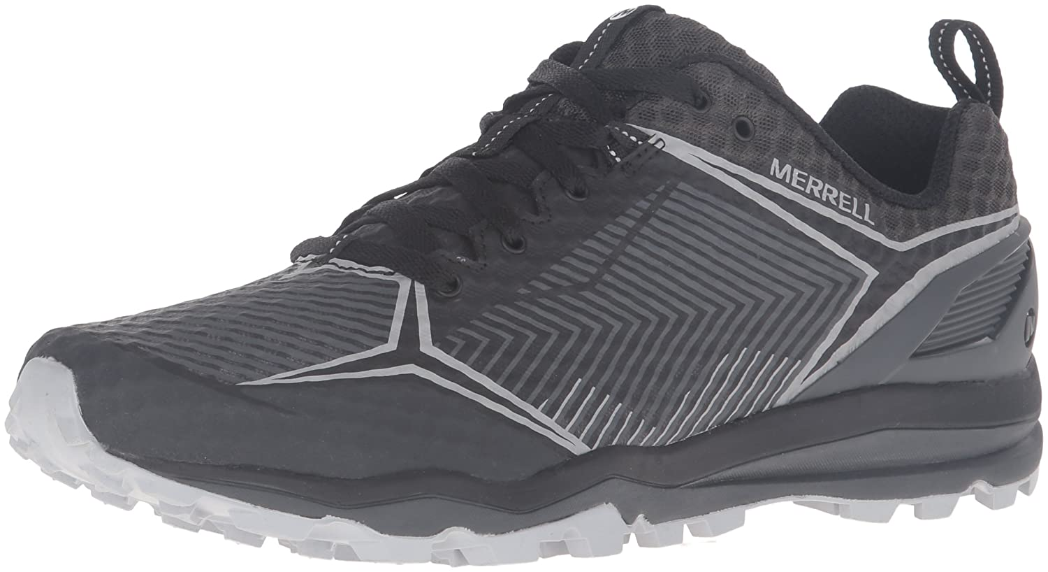 Merrell Men's All Out Crush Shield Trail Runner B0193REN0S 12 M US|Black/Granite