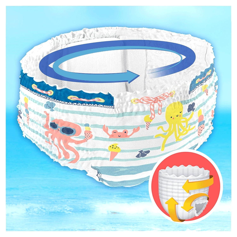 Dodot Pañales Bañadores Desechables Splashers para 14+ kg, Talla 5, 10 Piezas: Amazon.es: Salud y cuidado personal