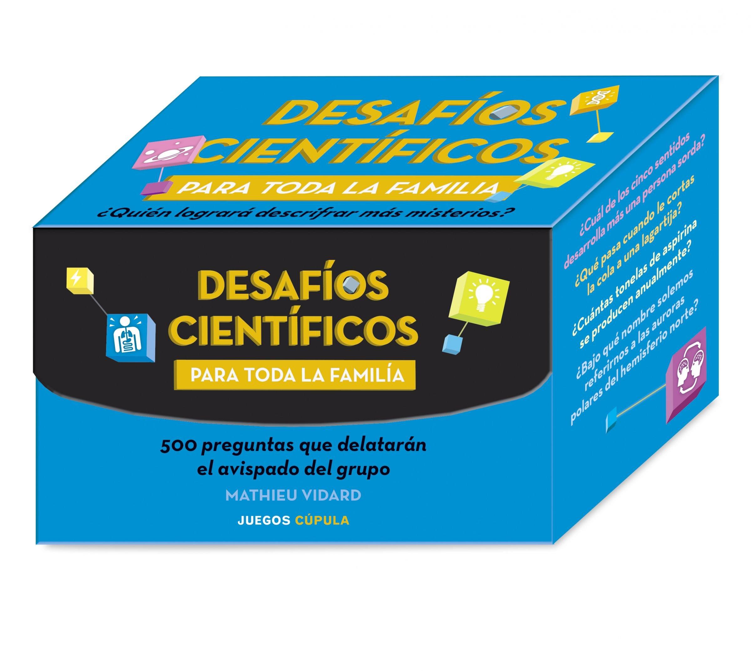 Desafíos científicos para toda la familia Juegos Cúpula: Amazon.es: AA. VV., González Tura, Oriol: Libros