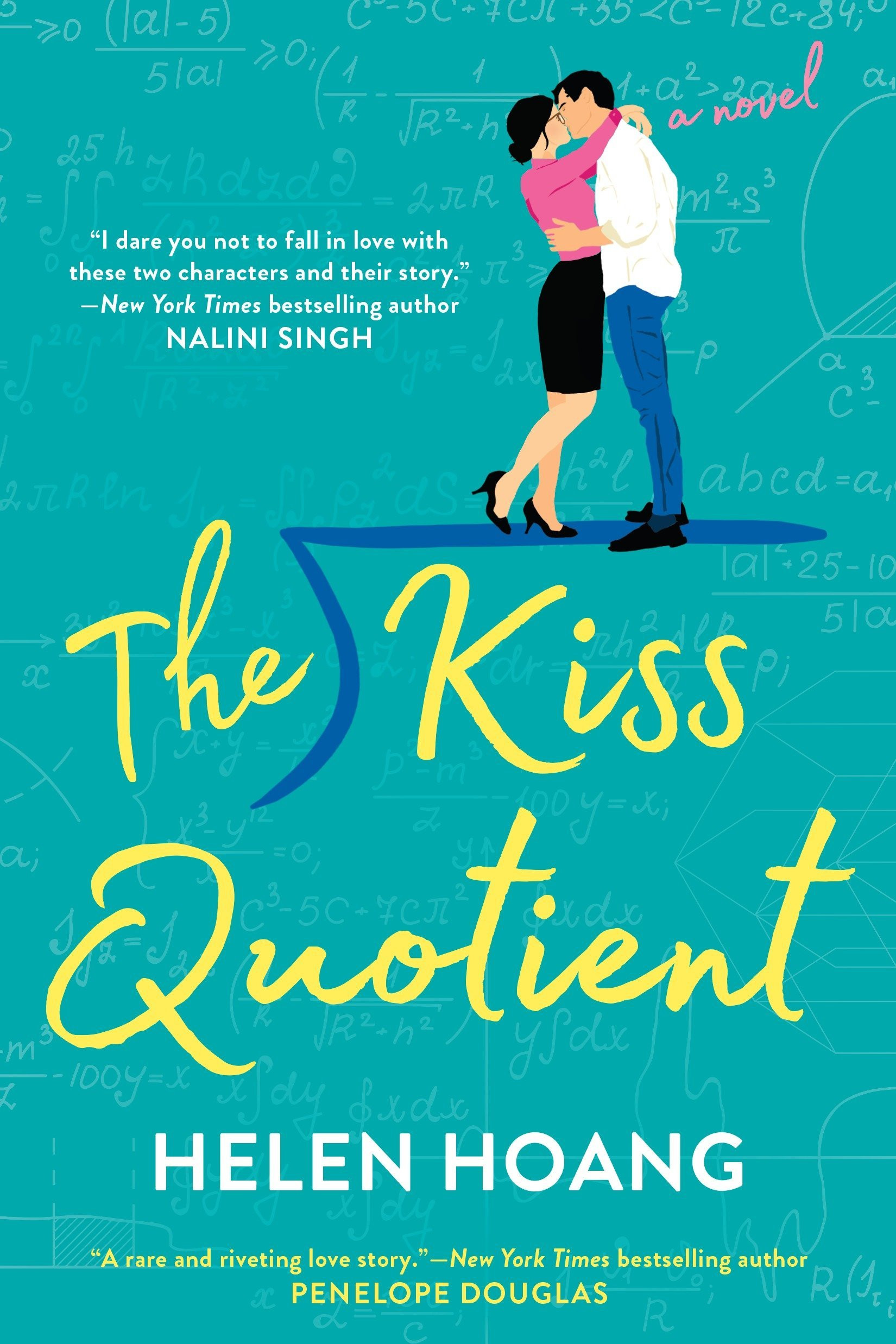 Image result for the kiss quotient by helen hoang