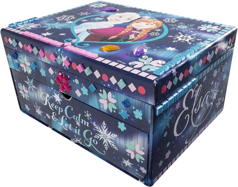 Disney Frozen Design Your Own Jewellery Box Mosaic Sparkling