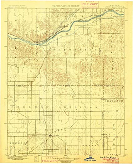 Updated 1917 YellowMaps Lukfata OK topo map 1902 Historical 1:125000 Scale 19.9 x 16.8 in 30 X 30 Minute