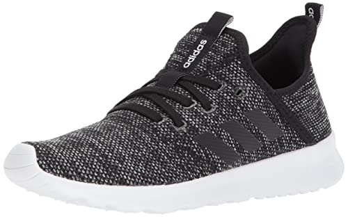 best cheap cf6dd 059eb adidas Womens Cloudfoam Pure Sneakers, Core BlackCore BlackFootwear White,  5