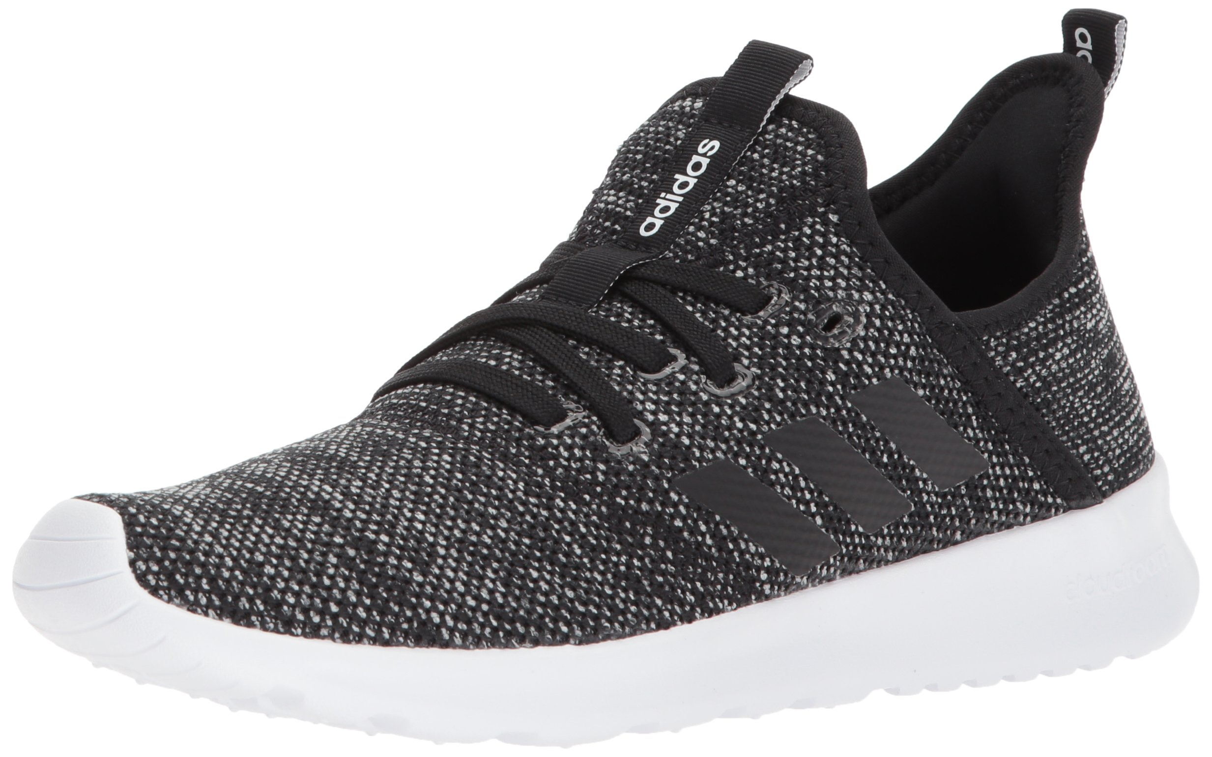 adidas Performance Women's Cloudfoam Pure Running Shoe, Black/Black/White, 5 M US by adidas (Image #1)