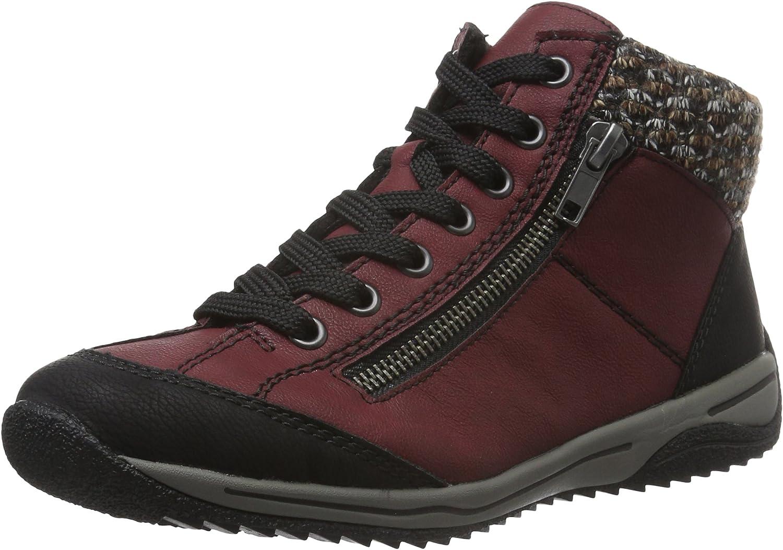 Rieker L5223, Zapatillas Altas para Mujer
