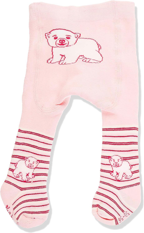 2er Pack Playshoes Unisex Baby Warme Thermo Eisb/är mit Komfortbund Strumpfhose