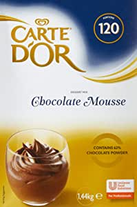 CARTE d'Or Chocolate Mousse Dessert Mix, 1 x 1440 g