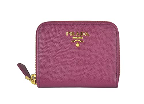 3fa918d98f86 PRADA Saffiano Leather Zip Around Wallet Coin Purse Ametista Purple 1M0268:  Amazon.ca: Shoes & Handbags