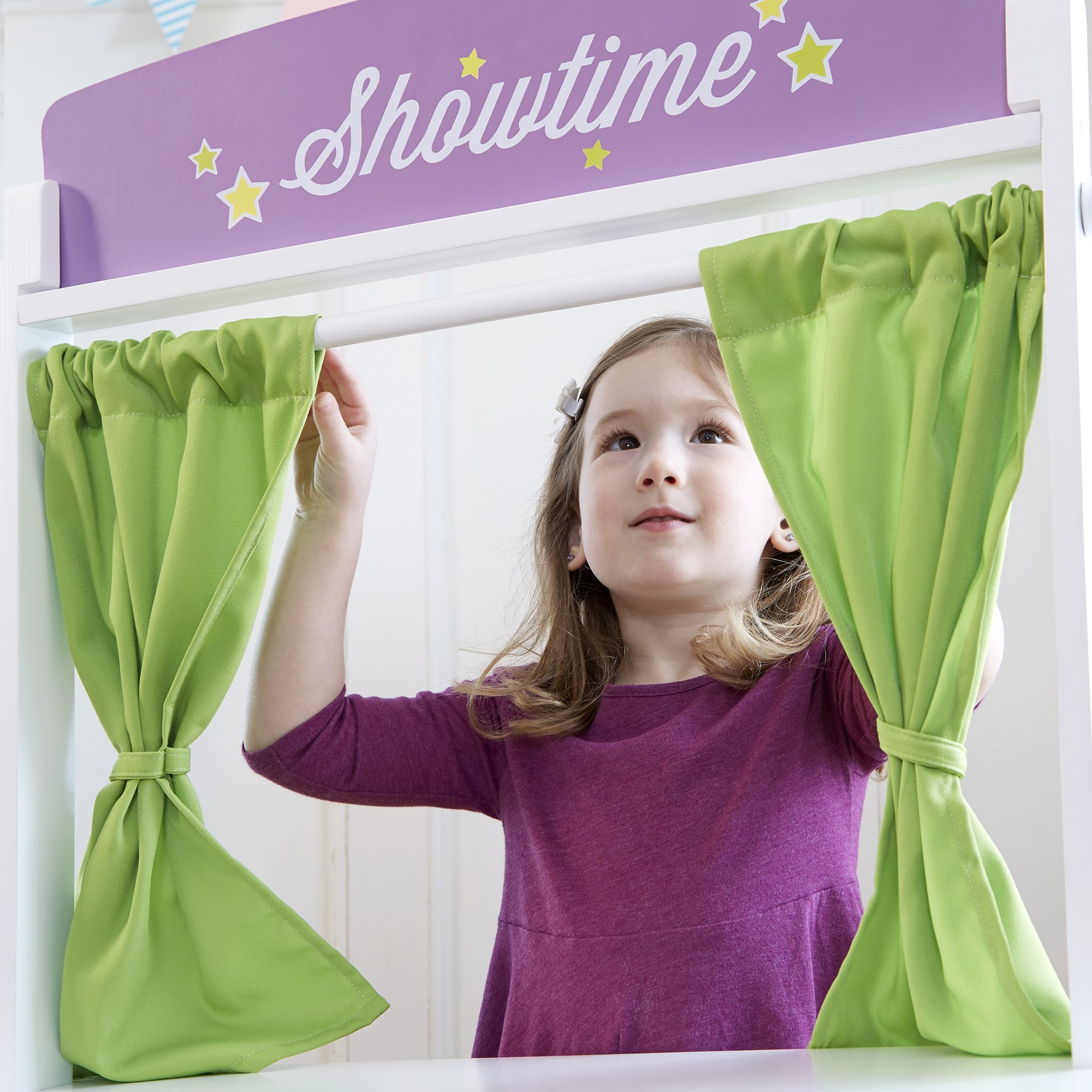 Guidecraft Showtime Floor Theater, Children's Dramatic Play or Puppet Stage by Guidecraft (Image #5)