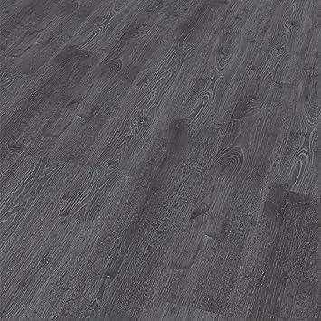 Karton Laminatboden Kronotex Serie Dynamic; 8 mm stark; D 2955 Black and White; AC 4; 2-Stab; 2,131