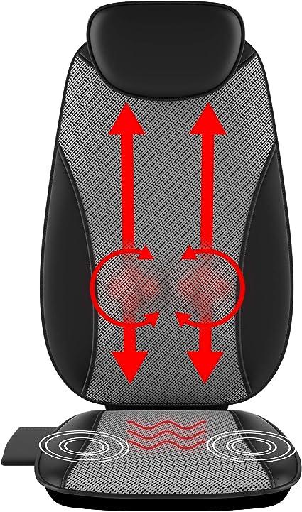 Amazon.com: Gideon - Cojín de masaje para cuerpo eléctrico ...