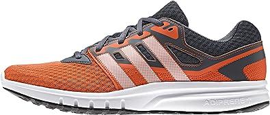 adidas Galaxy 2 M, Zapatillas de Running para Hombre, Gris/Naranja/Blanco (Onix/Narsup/Ftwbla), 45 1/3 EU: Amazon.es: Zapatos y complementos