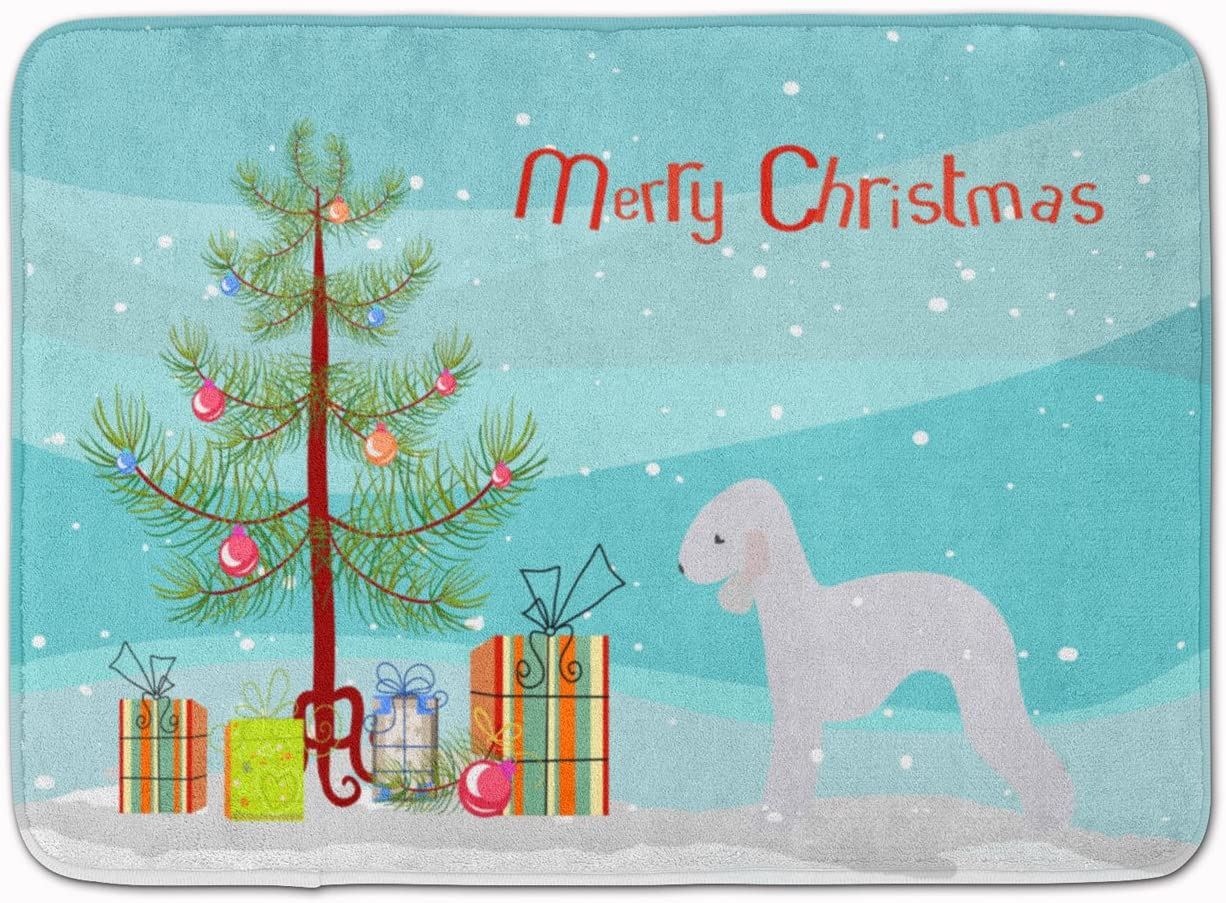 Carolines Treasures Dog House Bedlington Terrier Blue Floor Mat 19 x 27 Multicolor