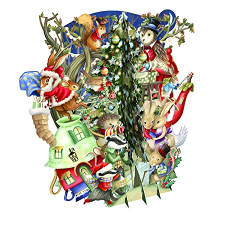 Paper DArt - Tarjeta de felicitación navideña, diseño de ...