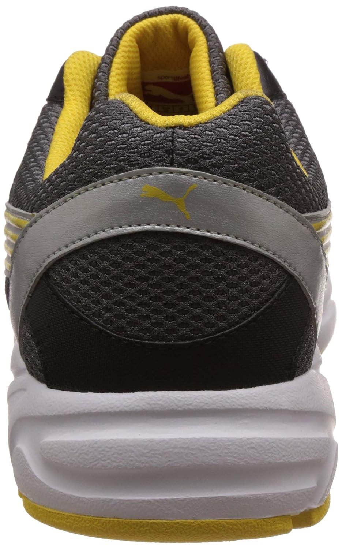 Negro Y Amarillo, Zapatos Corrientes De Los Hombres Puma Plutón Dp