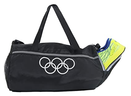 ac3a46a16524 Image Unavailable. Image not available for. Colour  POLE STAR Polyester 26  L Black Gym Bag