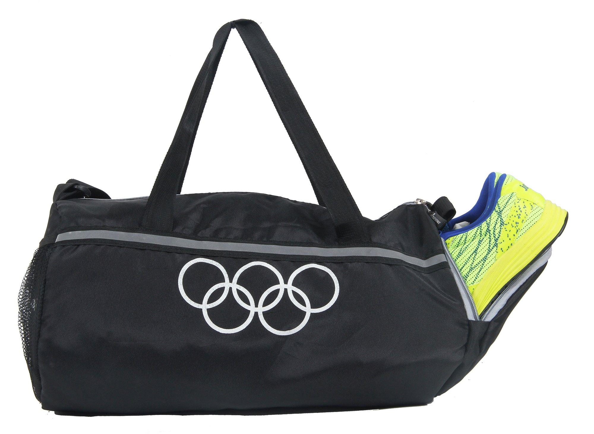 POLE STAR Polyester 26 L Black Gym Bag product image