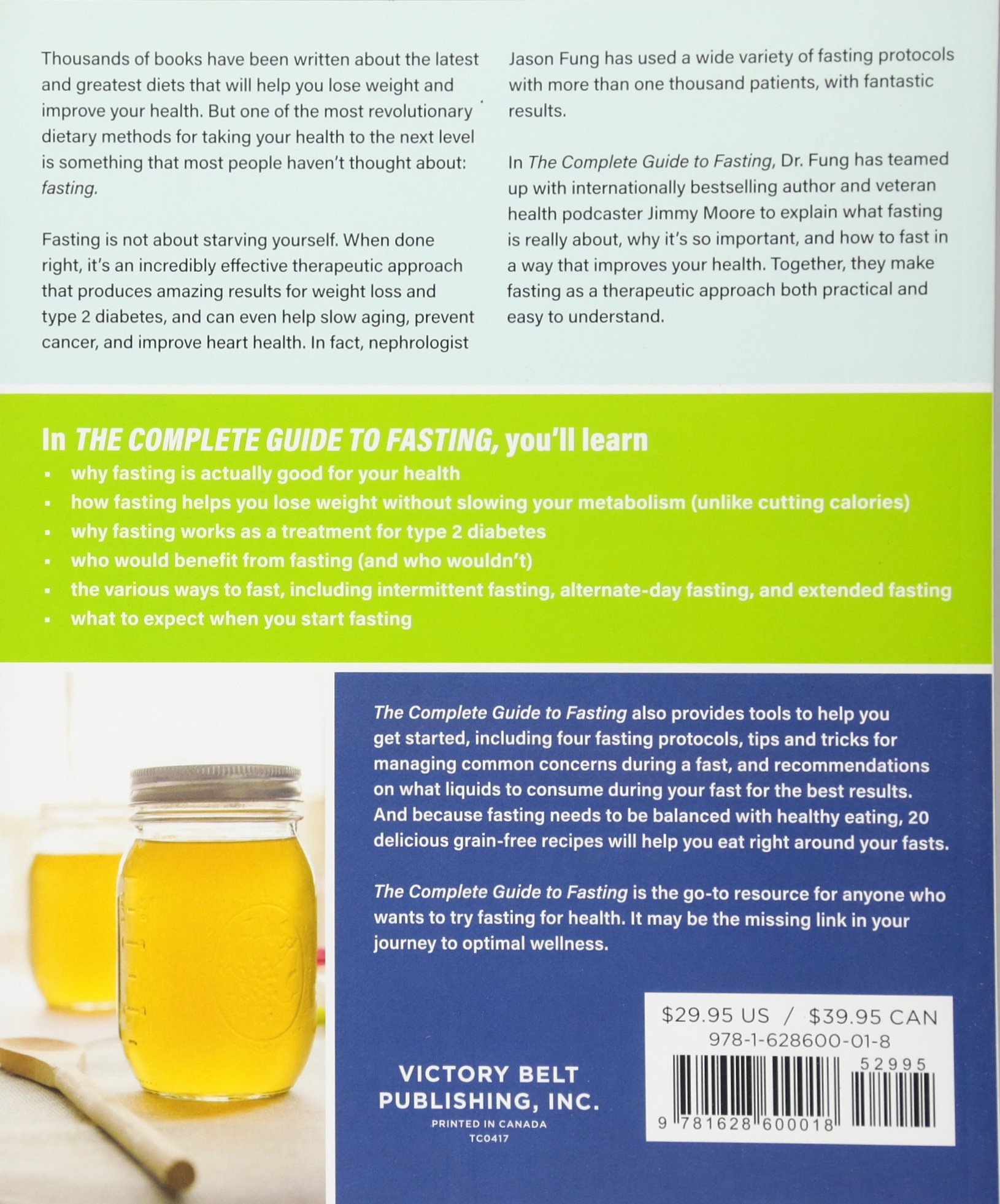 The Complete Guide to Fasting: Amazon.co.uk: Jason Fung, Jimmy Moore:  9781628600018: Books