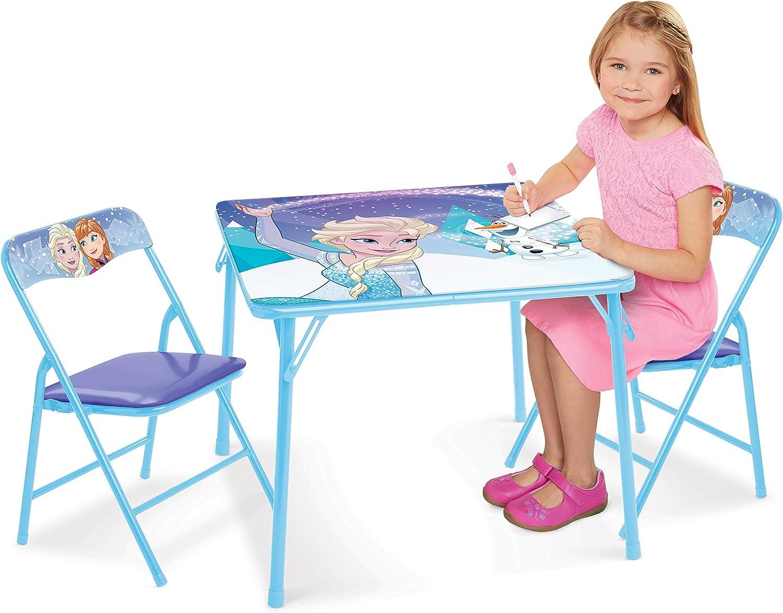 Juego de Mesa y sillas de Frozen, Mesa de Actividades mágica con Brillos, 2 sillas: Amazon.es: Juguetes y juegos