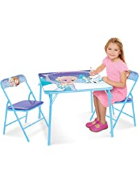 Frozen Table & Chairs Set - Sparkle Like Magic Activity Table (2) Chairs