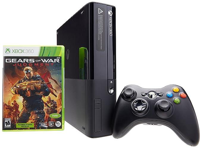 Consola Xbox 360 4gb Con Juego Gears Of War Judgment Bundle