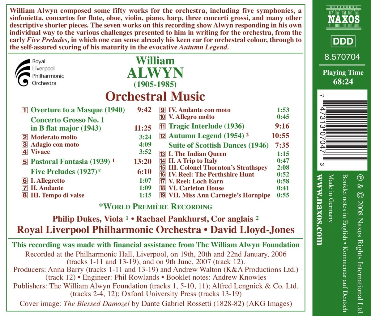 Orchestral Music by Naxos