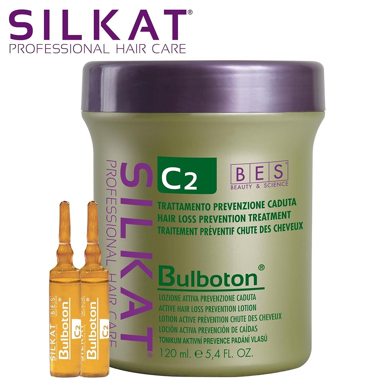 BES, Silkat Phc Bulboton Lozione Anticaduta C2 12X10 ml