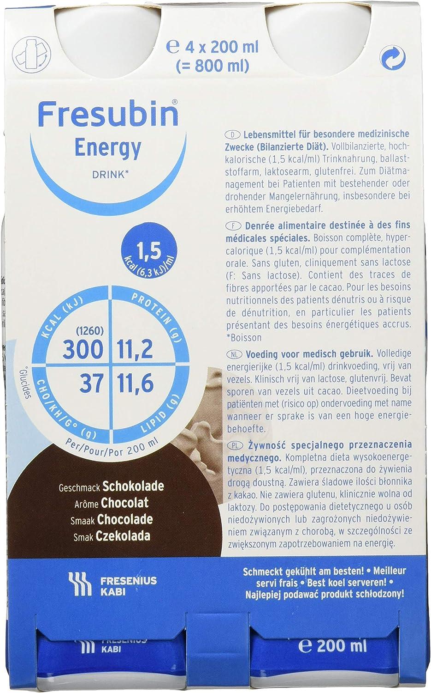 Fresubin CHOCOLATE ENERGY DRINK - 6X4X200 ml