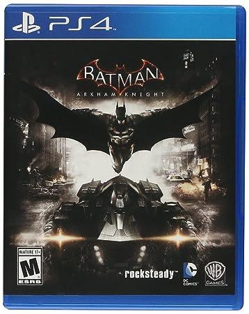 Amazon.com: Batman: Arkham Knight - PlayStation 4: Whv Games ...