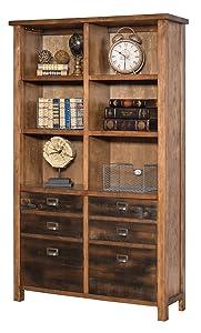 Martin Furniture IMHE4472 Heritage Bookcase