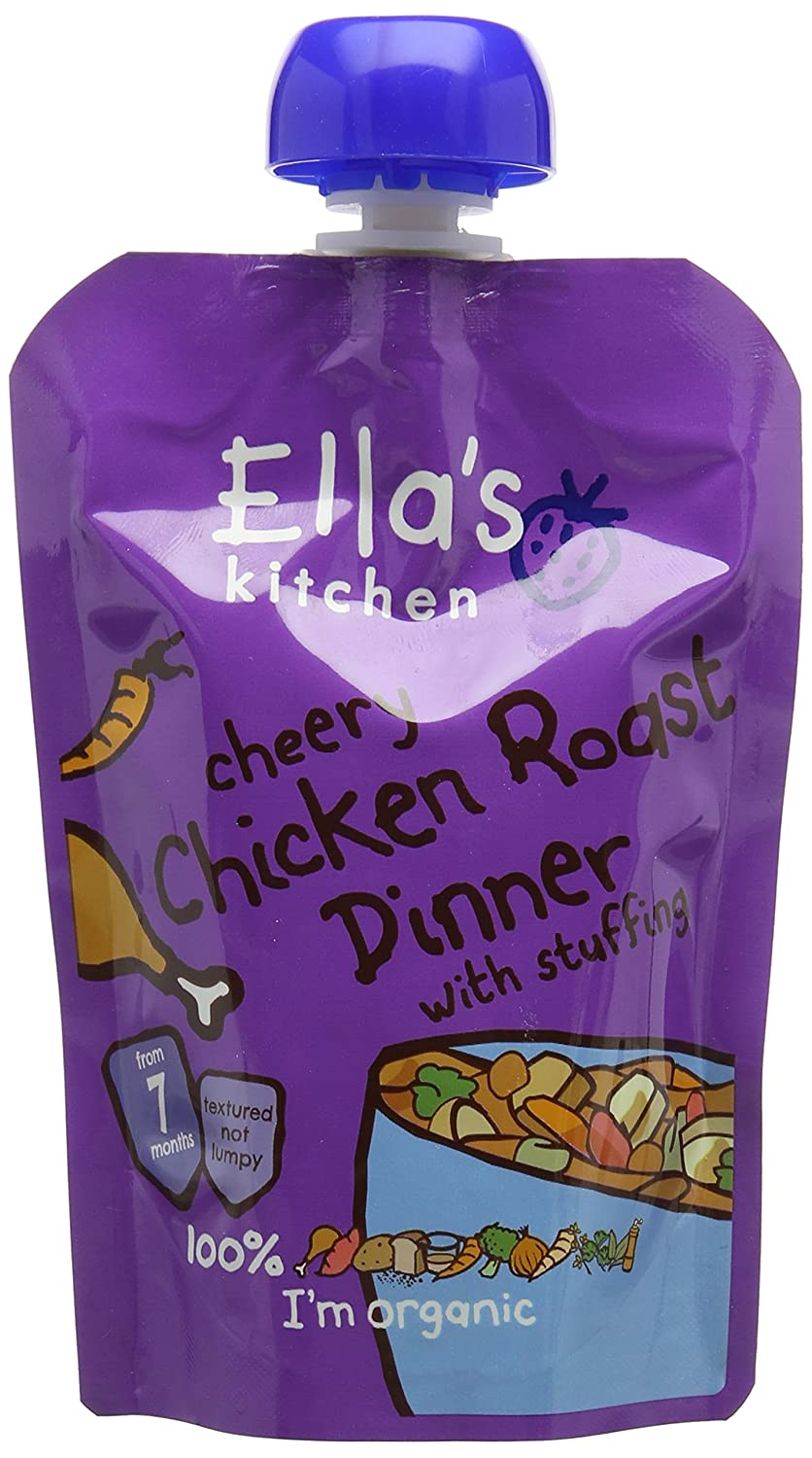 Ella's Kitchen Cheery Chicken Roast Dinner 130 g (Pack of 6)